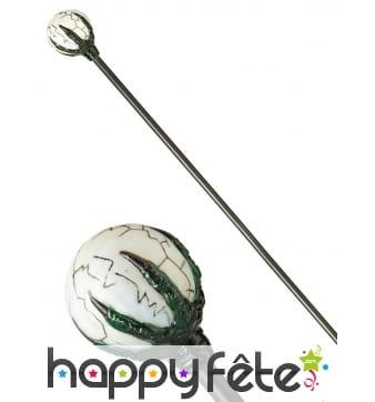 Sceptre globe de magicien, 122cm