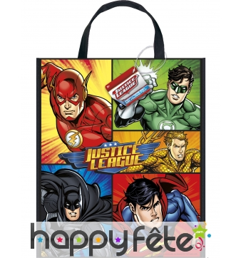 Sac héros marvel Justice League en plastique