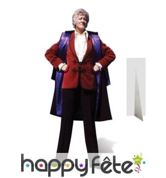 Silhouette John Pertwee en carton, Doctor who