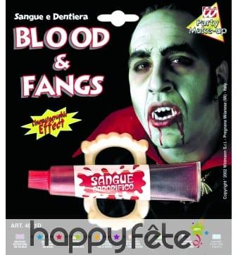 Sang liquide + dents