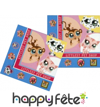 Serviettes Little Pet Shop
