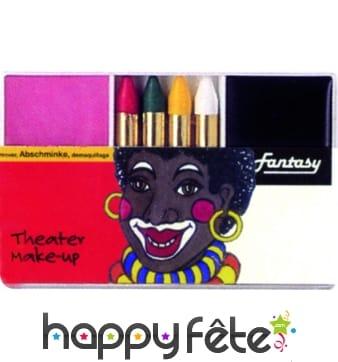 Set maquillage africain