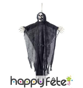 Squelette moissonneur d'âme à suspendre, 90cm