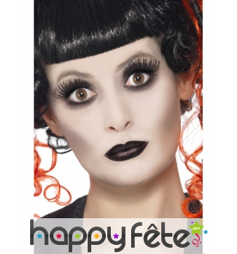 Set maquillage gothique