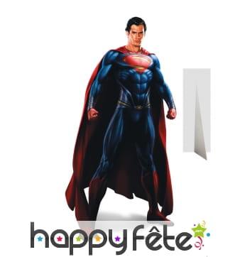 Superman man of steel en carton taille réelle