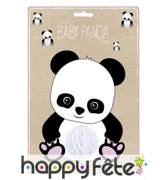 Suspension petit bébé panda de 20 cm