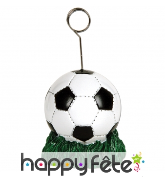 Support photo en forme de ballon de foot