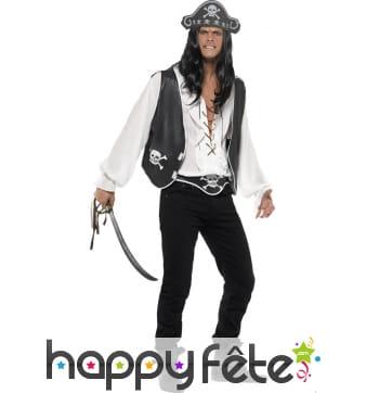 Set pirate noir et blanc