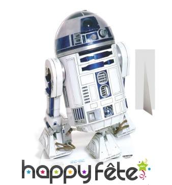 Silhouette R2-D2 en carton plat