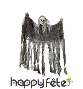 Spectre squelette Halloween à suspendre