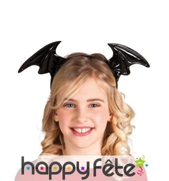 Serre tête ailes de chauve-souris pour enfant