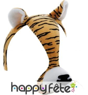 Serre tète bruiteur tigre bruiteur