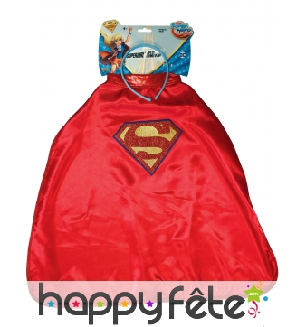 Serre-tête et cape de Supergirl, Super Hero Girls