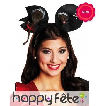 Serre-tête oreilles de Mickey zombie