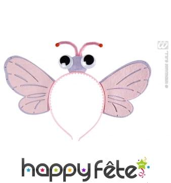 Serre tète papillon pour enfant et adulte