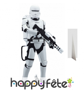 Silhouette taille réelle flametrooper, Star Wars