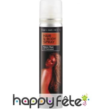 Spray UV corps et cheveux rouge