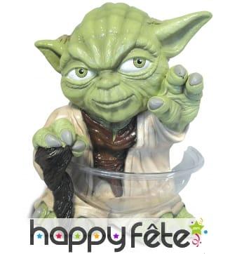 Statue Yoda porte saladier de 38cm