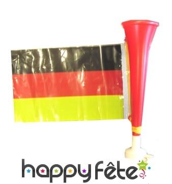 Trompette avec drapeau Allemand