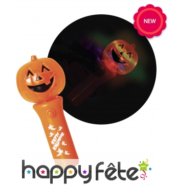 Torche citrouille, spinner pour Halloween