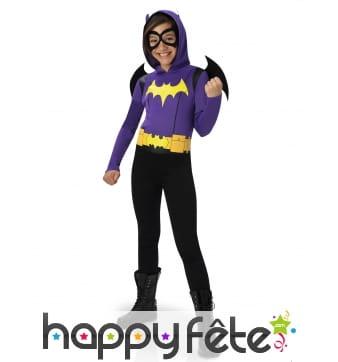 Tenue de Batgirl pour enfant, Super Hero Girls