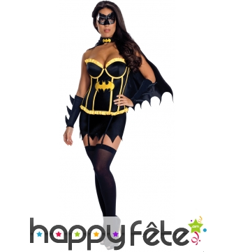 Tenue de Batgirl pour femme adulte