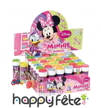 Tube de bulles de savon Minnie mouse