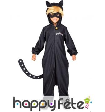 Tenue de Chat Noir Miraculous pour enfant