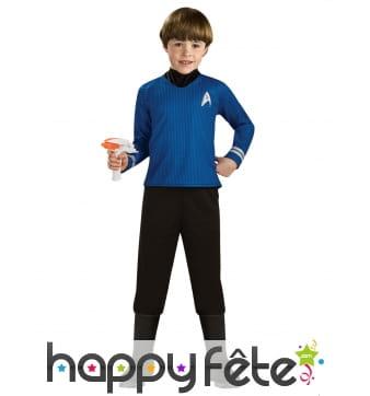 Tenue du Captain Spock pour enfant, Star Trek luxe