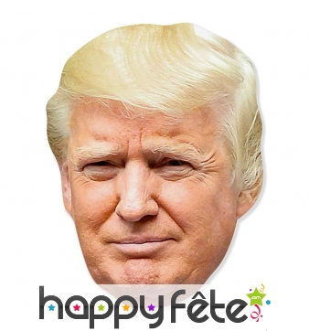 Tete de Donald Trump Géante