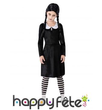 Tenue d'écolière gothique pour fille