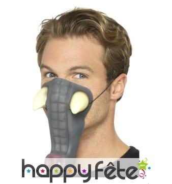 Trompe d'éléphant en mousse