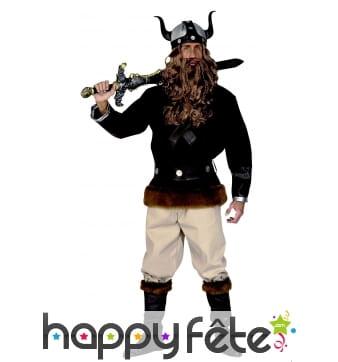 Tenue de guerrier Viking pour homme adulte