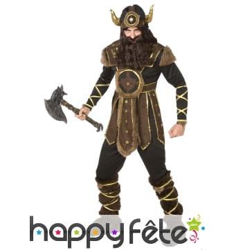 Tenue de guerrier viking pour homme
