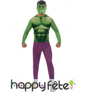 Tenue de Hulk pour adulte, version classique