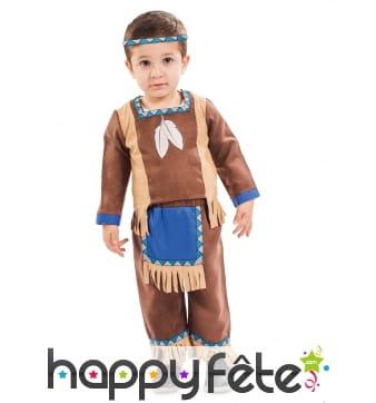 Tenue d'indien pour bébé