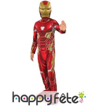 Tenue de Iron Man Infinity War pour enfant