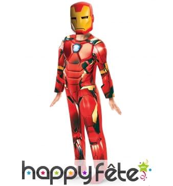 Tenue de Iron Man pour enfant, luxe