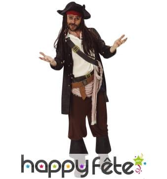Tenue de Jack Sparrow pour homme