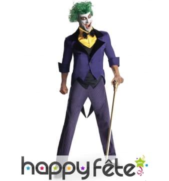 Tenue de Joker pour adulte, modèle luxe