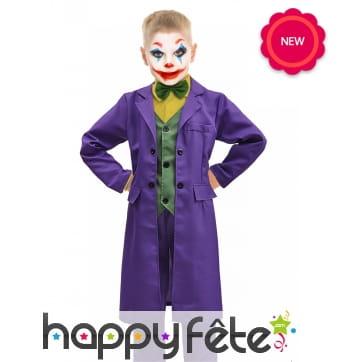 Tenue de Joker pour enfant