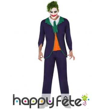 Tenue de Joker pour homme adulte