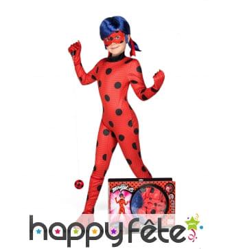 Tenue de Ladybug pour enfant, en coffret