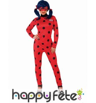 Tenue de Ladybug pour femme adulte