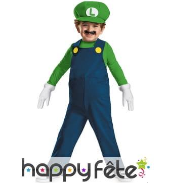 Tenue de Luigi pour garçon