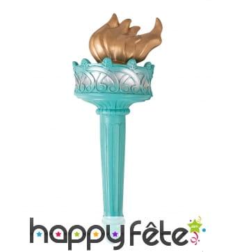 Torche de la statue de la liberté en plastique