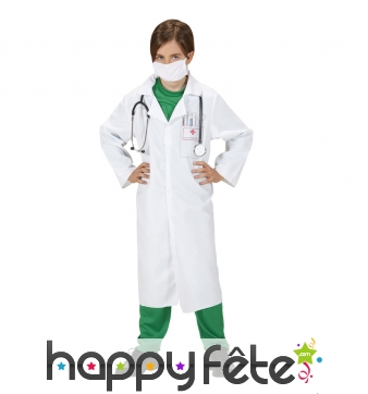 Tablier de médecin pour enfant