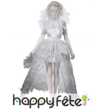 Tenue de mariée fantôme grande taille