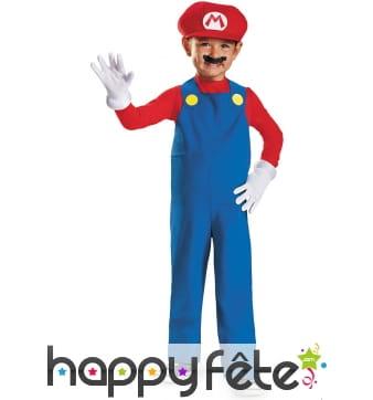 Tenue de Mario pour garçon