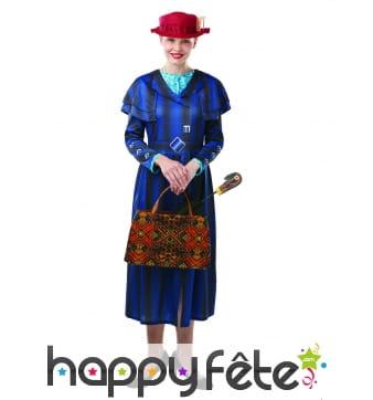 Tenue de Mary Poppins pour femme adulte
